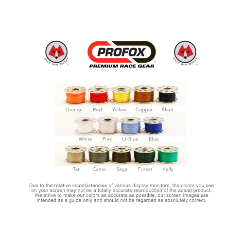 Nomex Thread Colors