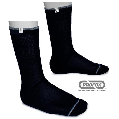 Fire Resistant Nomex-blend black socks