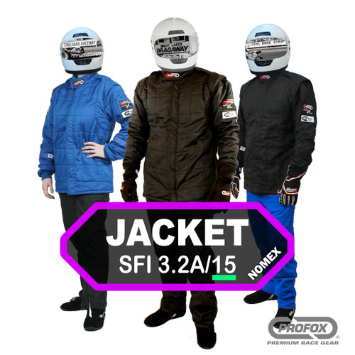 PROFOX-15nx™ SFI-15 Nomex Drag Racing Jacket