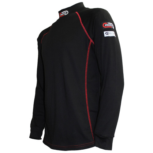 Nomex-Blend fire resistant top for racing - Front side view