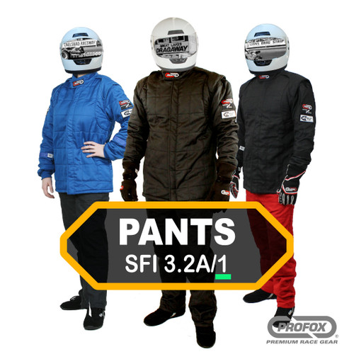 PROFOX-1™ 1-Layer SFI-1 Fire Rated Race Pants