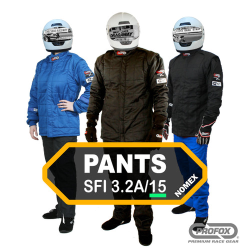 PROFOX-15nx™ SFI-15 Nomex Drag Racing Pants