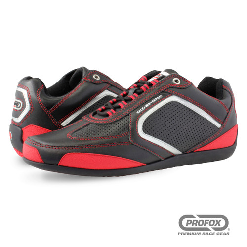 PROFOX Challenger Red Driving Shoe