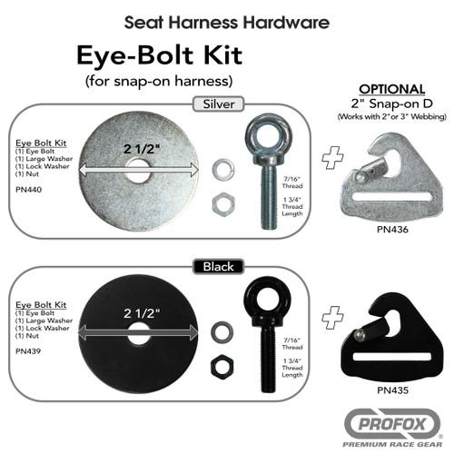 Eye Bolt Kit for race Harness