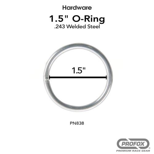 1.5 Inch Steel O Ring Welded