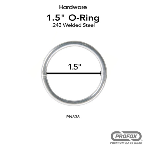 1.5 Inch Steel O Ring Welded