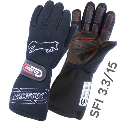 Flame Resistant Drag Racing Gloves SFI 3.3-15