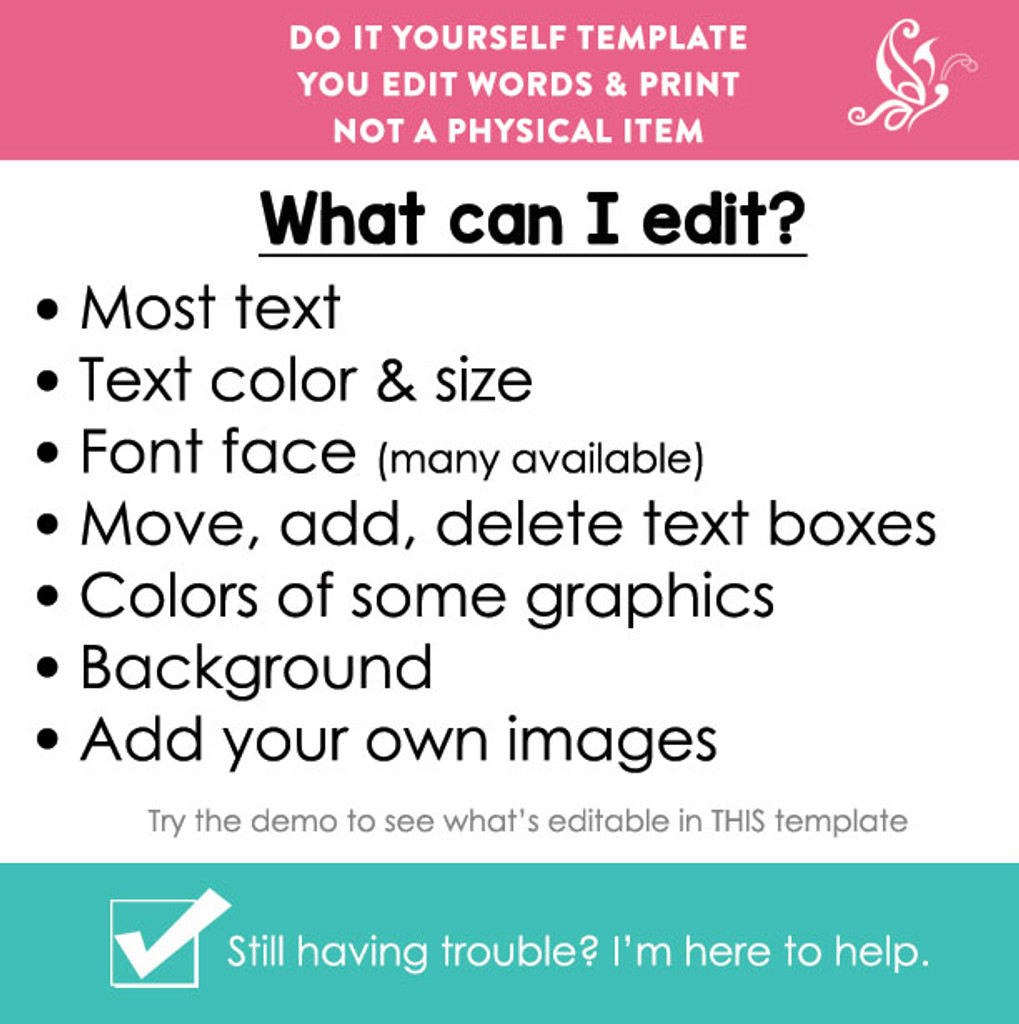 CORJL Editable Back to School Sign Printable Poster