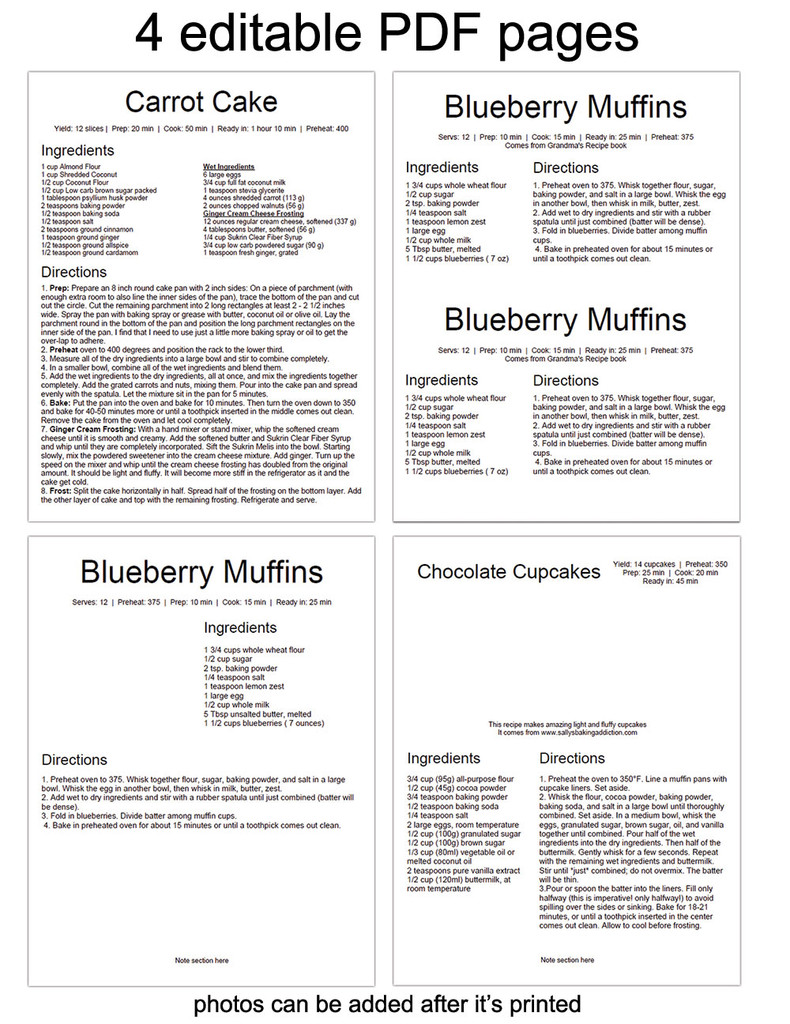 Editable pdf for use with adobe reader