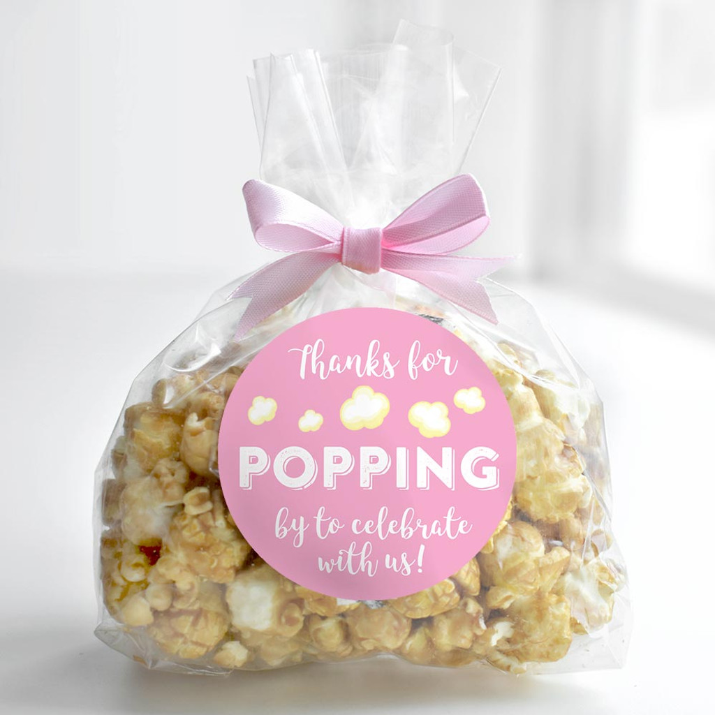Thank you for popping by to celebrate with us DIY girls baby shower or wedding popcorn favors