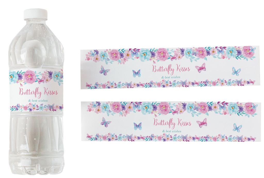 waterproof water bottle labels party decor