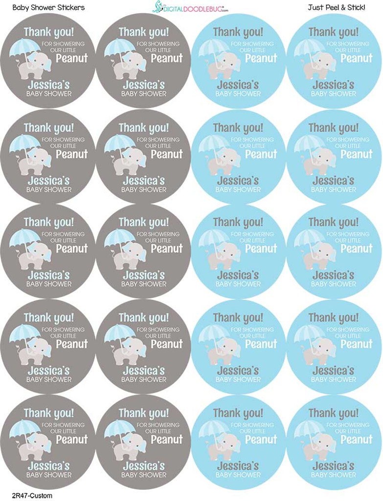 Use them on gift bags, thank you cards, party favors, favor boxes, cups, mugs, and more!