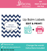 Anchor Printable Lip Balm Labels