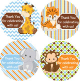 2 inch stickers baby shower favors