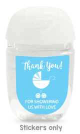 Hand sanitizer labels for baby shower fit bath and body works pocketbac.