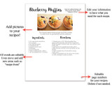 Add recipe pictures to your pages