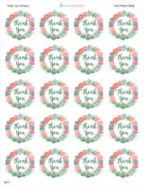 2 inch stickers precut on the sheet western theme