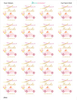 2 inch round favor labels precut on the sheet