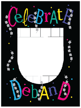 Celebrate Deband Picture Frame