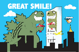 Great Smile Dinosaur