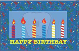 Happy Birthday w/Candles