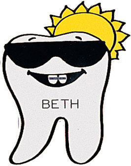 2801-105 Sunny Braces Tooth