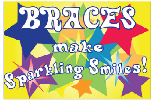 Braces make a Sparkling Smile