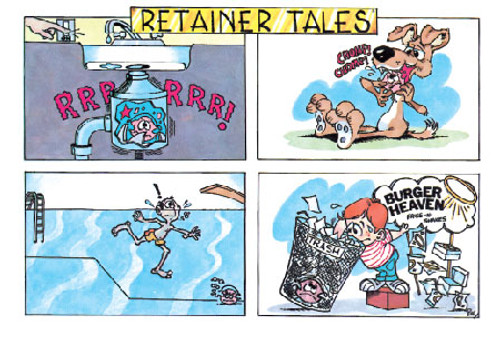Retainer Tales with Disposal