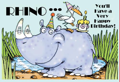 Rhino Birthday