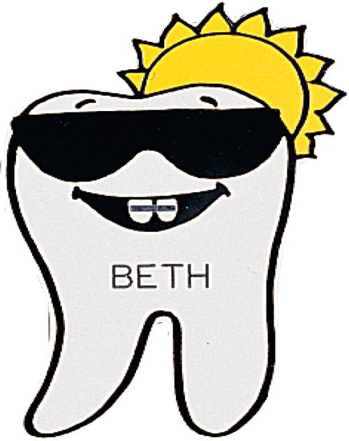 2801-105 Sunny Braces Tooth