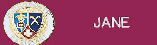 Orthodontic Assistant Emblem 2801-109