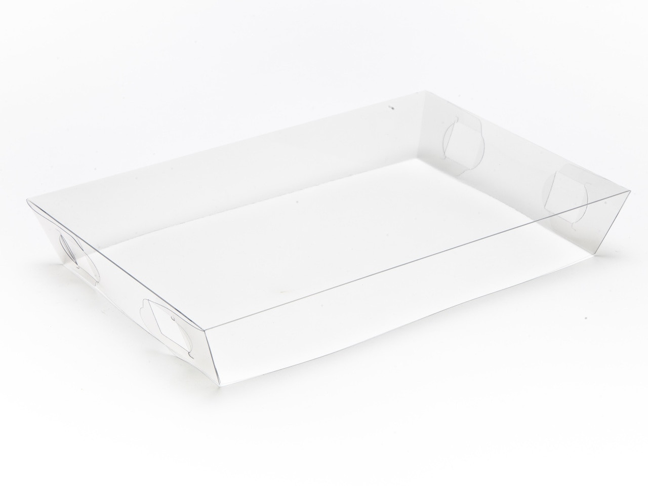 Transparent Lid To Fit Small Hamper Box Clear Meridiansp
