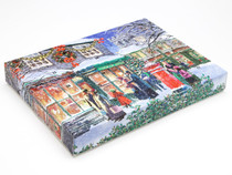 Traditional Chocolate Shop Scene Self Fill advent Calendar for Chocolates or Wax Melts