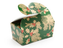 2 Choc Butterfly Ballotin - Traditional Holly| MeridianSP