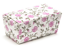 2 Choc Rose Floral Ballotin Chocolate Box for Weddings, Parties, Mothers Day