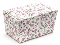 250g Rose Floral Ballotin Chocolate Box