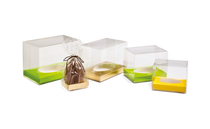 Easter Egg Transparent Carton with Egg Plinth to purchase seperately