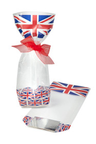 100x220 Hard Bottom Film Bag in Union Jack Printed Pattern
