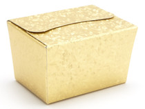 100g Ballotin - Embossed Gold | MeridianSP