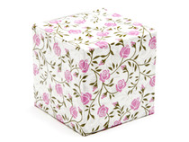 60mm Rose Floral Crashlock Cube Carton