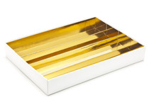 24 Choc Bright Gold Board Chocolate Box Divider