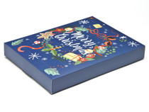 Wreath Premium Deluxe Advent Calendar sized  - Fill it Yourself Advent Calendar Box Ideal for the festive season
