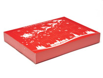 Sleigh Premium Light Advent Calendar sized  - Fill it Yourself Advent Calendar Box Ideal for the festive season