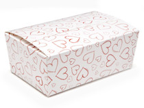 Light Hearts 750g sized Ballotin - Gift Carton Ideal for Valentine's occasions or wedding or gifting
