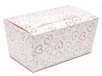 Light Hearts 1000g sized Ballotin - Gift Carton Ideal for Valentine's occasions or wedding or gifting