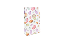 Large A Frame Tapered Gift Carton Eggs Upon Eggs Easter Pattern