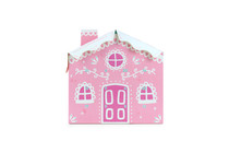 24 Day Pink Candy Cane House Advent  | MeridianSP