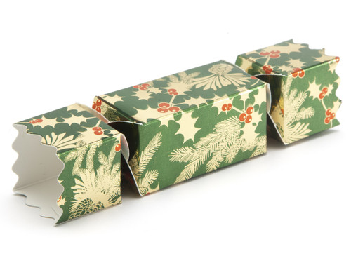 Small Twist End Cracker - Traditional Holly | MeridianSP