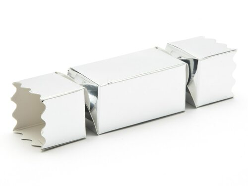 Small Twist End Cracker - Bright Silver | MeridianSP