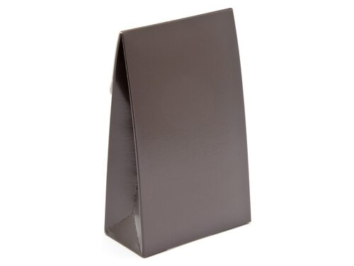 Small A-Frame Carton - Chocolate Brown | MeridianSP